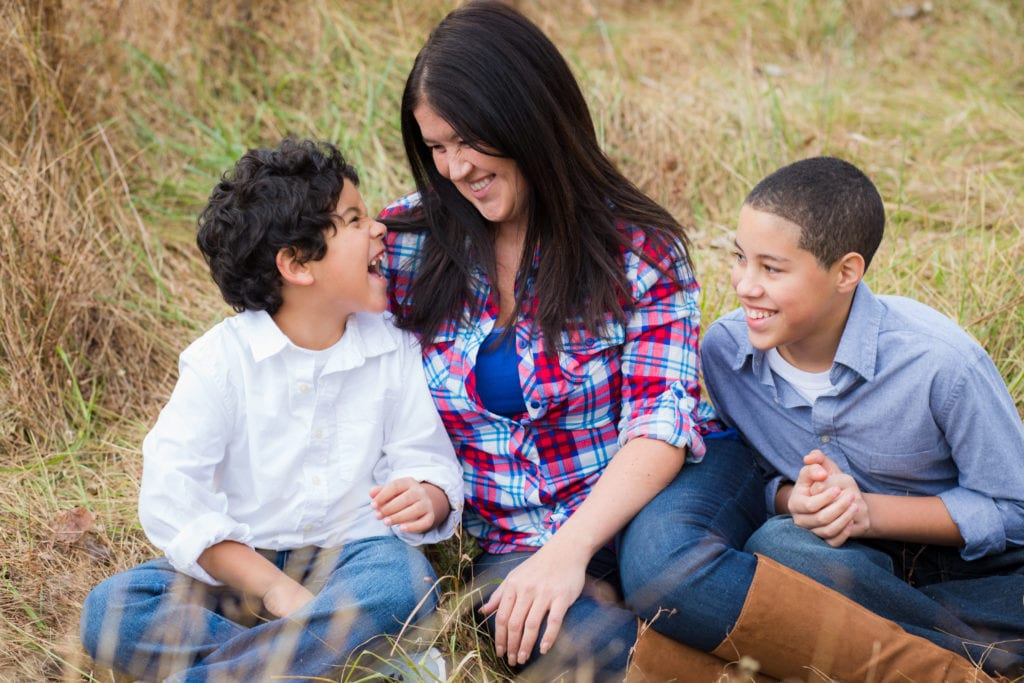 Family Photographer Rachael Ice Photography Mother and Sons